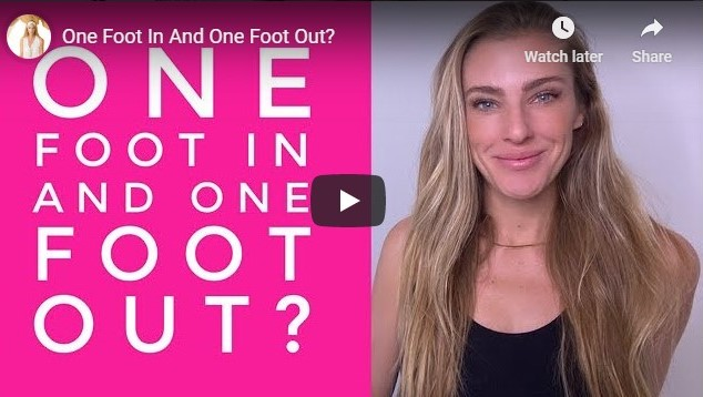 Why Do We Live One Foot In and One Foot Out?